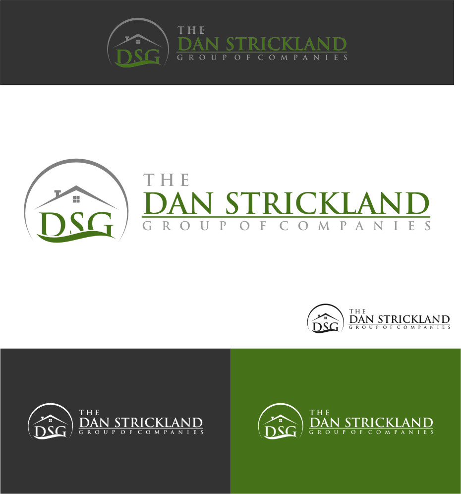 Logo Design by Ngepet_art - Entry No. 75 in the Logo Design Contest Creative Logo Design for The Dan Strickland Group.