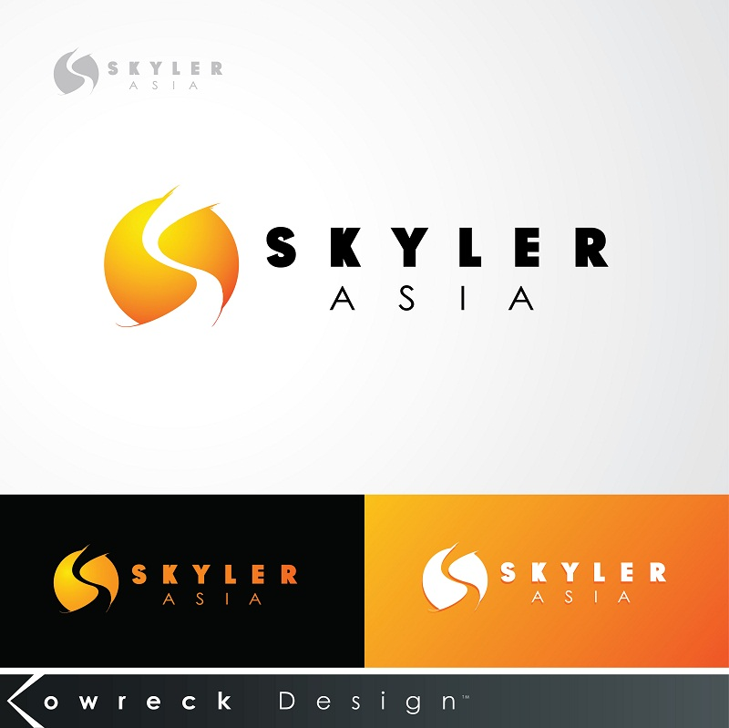 Logo Design by kowreck - Entry No. 176 in the Logo Design Contest Artistic Logo Design for Skyler.Asia.