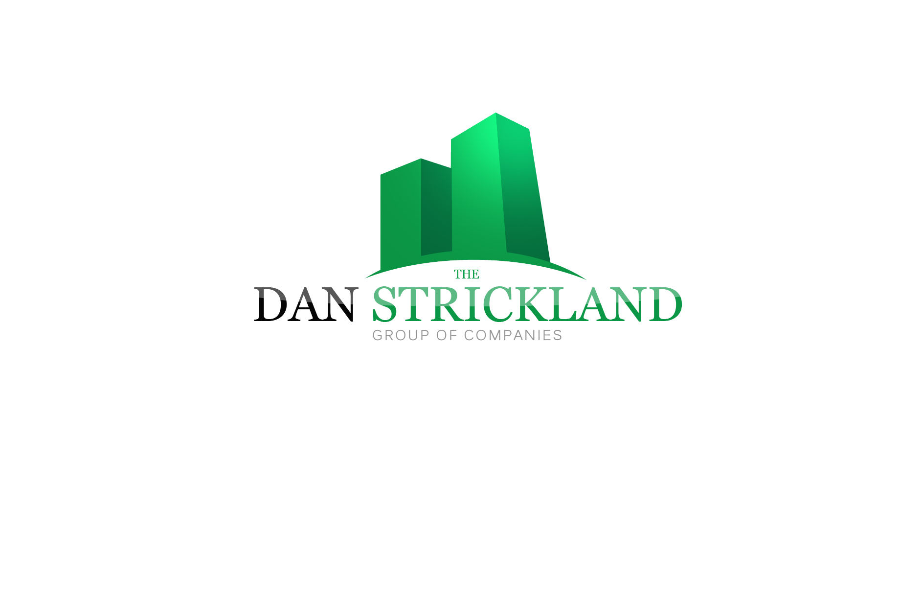 Logo Design by Jan Chua - Entry No. 78 in the Logo Design Contest Creative Logo Design for The Dan Strickland Group.