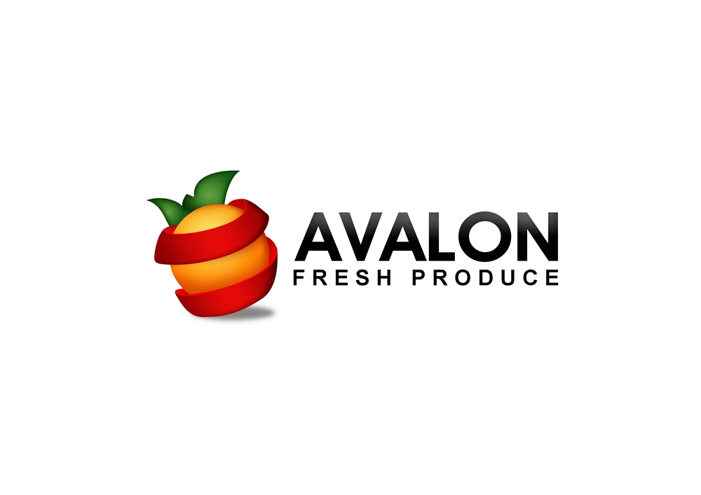 Logo Design by Respati Himawan - Entry No. 52 in the Logo Design Contest Unique Logo Design Wanted for Avalon Fresh Produce.