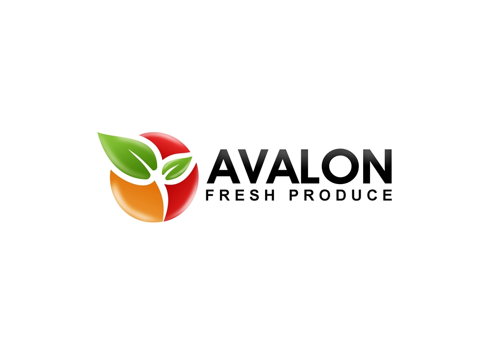 Logo Design by Respati Himawan - Entry No. 53 in the Logo Design Contest Unique Logo Design Wanted for Avalon Fresh Produce.
