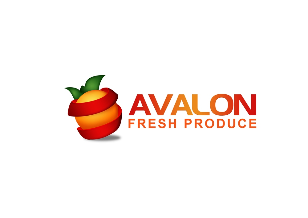 Logo Design by Respati Himawan - Entry No. 55 in the Logo Design Contest Unique Logo Design Wanted for Avalon Fresh Produce.