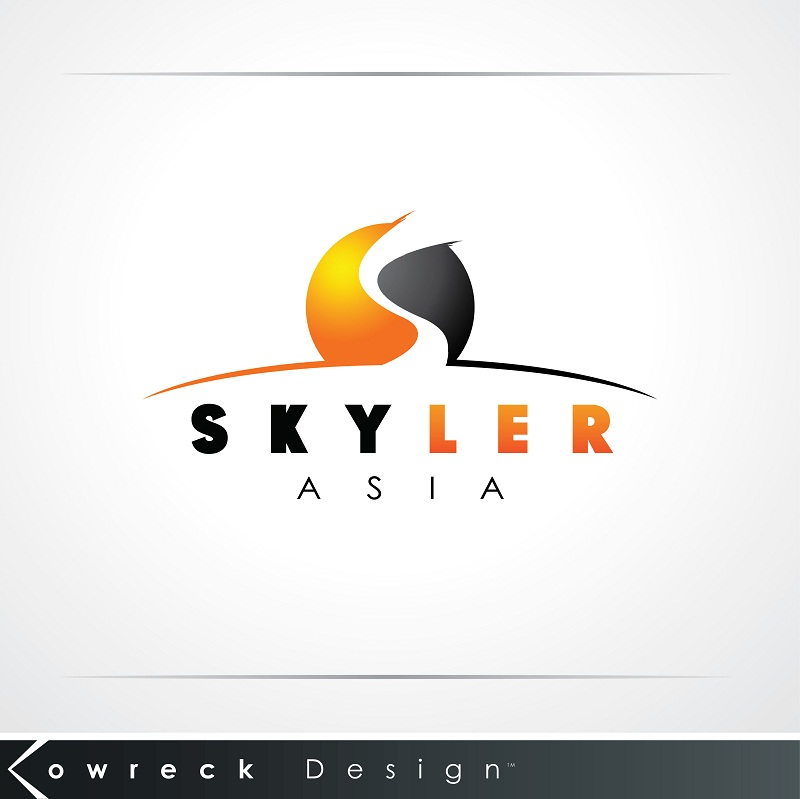 Logo Design by kowreck - Entry No. 178 in the Logo Design Contest Artistic Logo Design for Skyler.Asia.