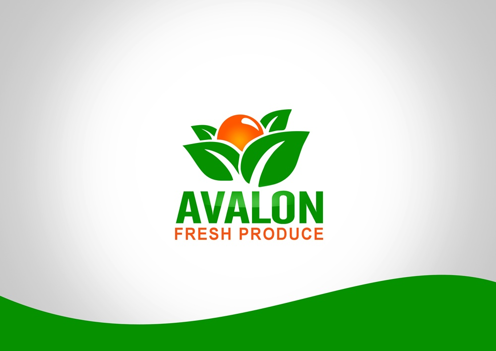 Logo Design by Respati Himawan - Entry No. 56 in the Logo Design Contest Unique Logo Design Wanted for Avalon Fresh Produce.