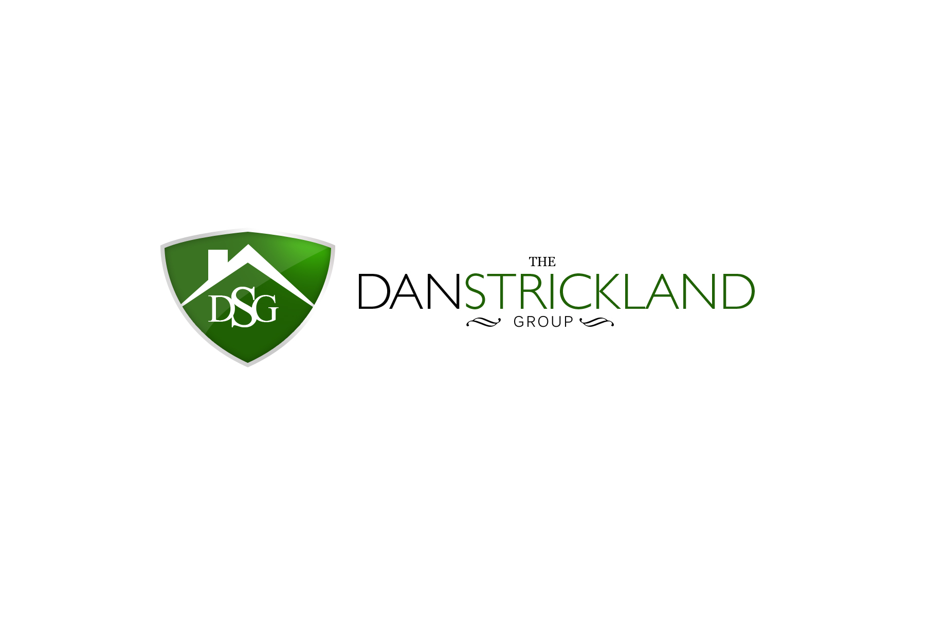 Logo Design by Jan Chua - Entry No. 84 in the Logo Design Contest Creative Logo Design for The Dan Strickland Group.