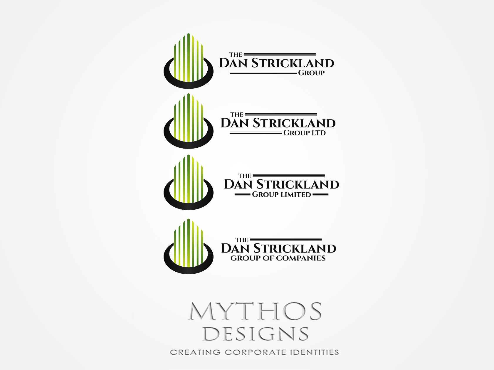 Logo Design by Mythos Designs - Entry No. 95 in the Logo Design Contest Creative Logo Design for The Dan Strickland Group.