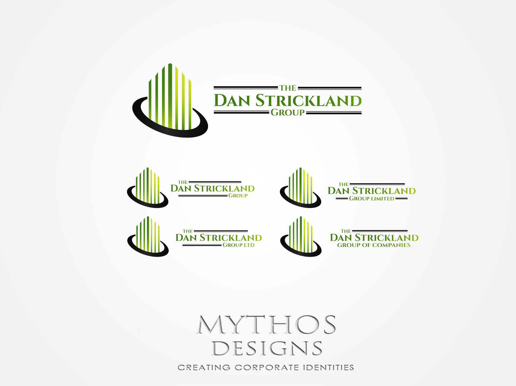 Logo Design by Mythos Designs - Entry No. 101 in the Logo Design Contest Creative Logo Design for The Dan Strickland Group.