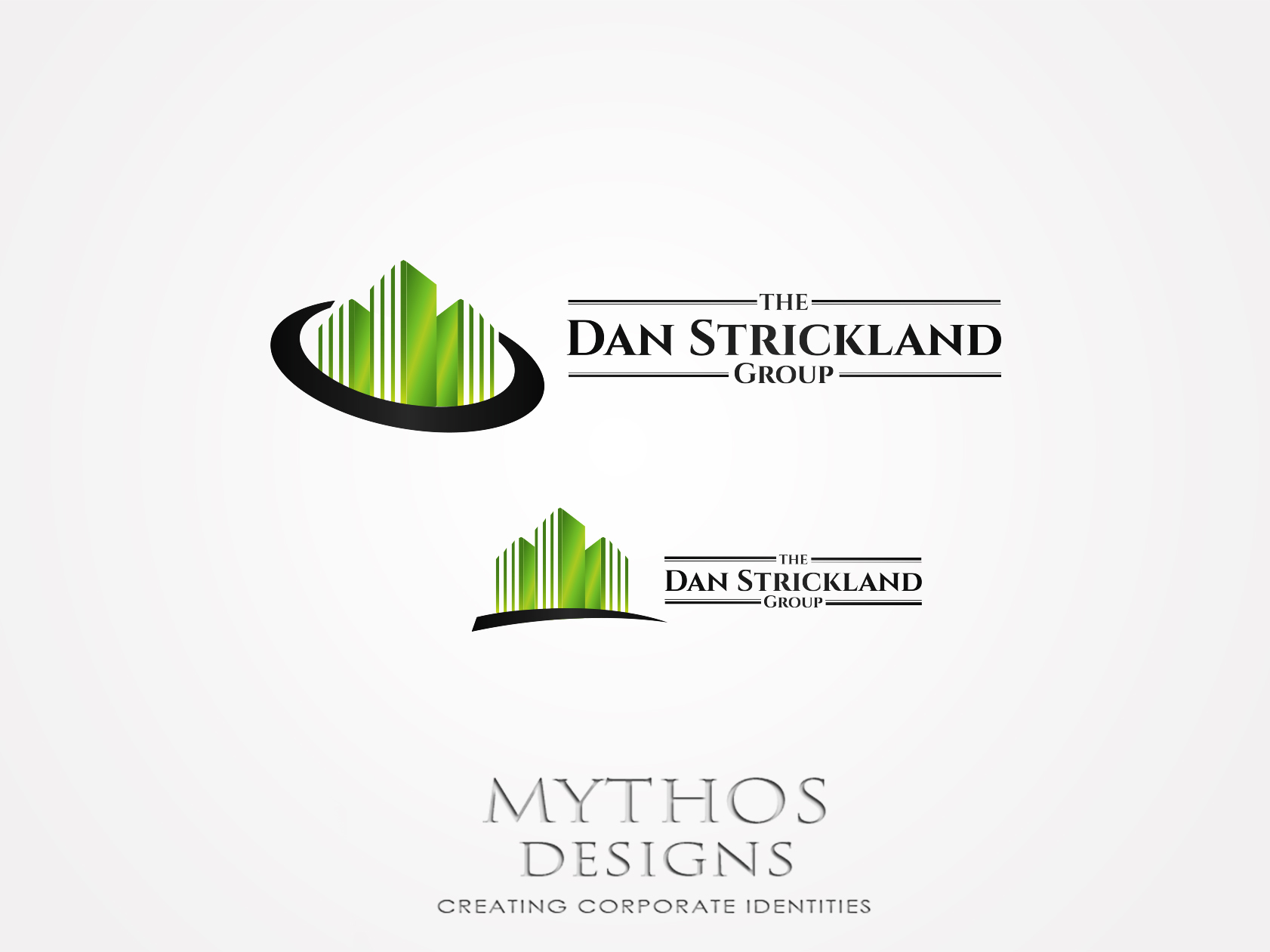 Logo Design by Mythos Designs - Entry No. 105 in the Logo Design Contest Creative Logo Design for The Dan Strickland Group.