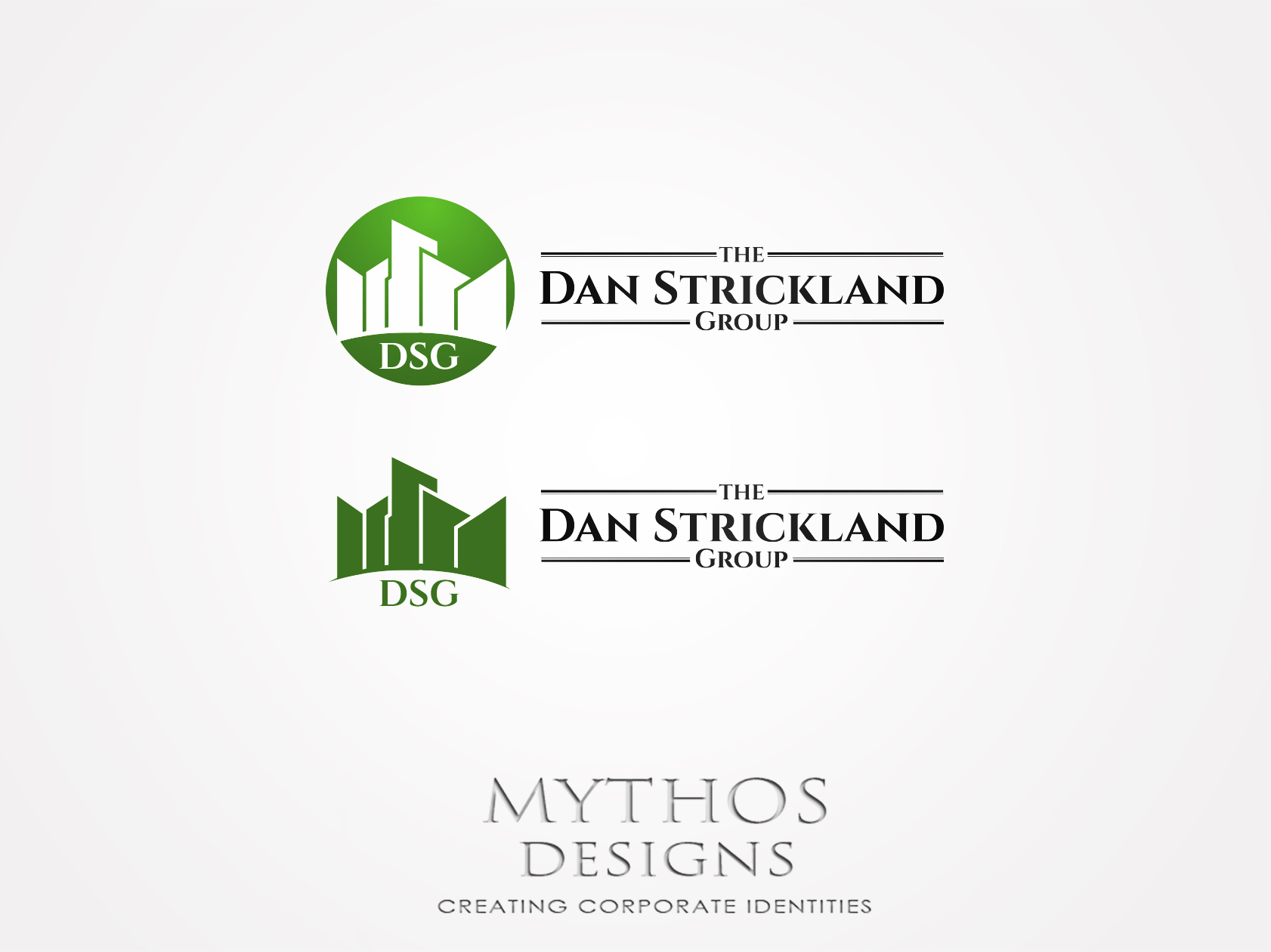Logo Design by Mythos Designs - Entry No. 111 in the Logo Design Contest Creative Logo Design for The Dan Strickland Group.