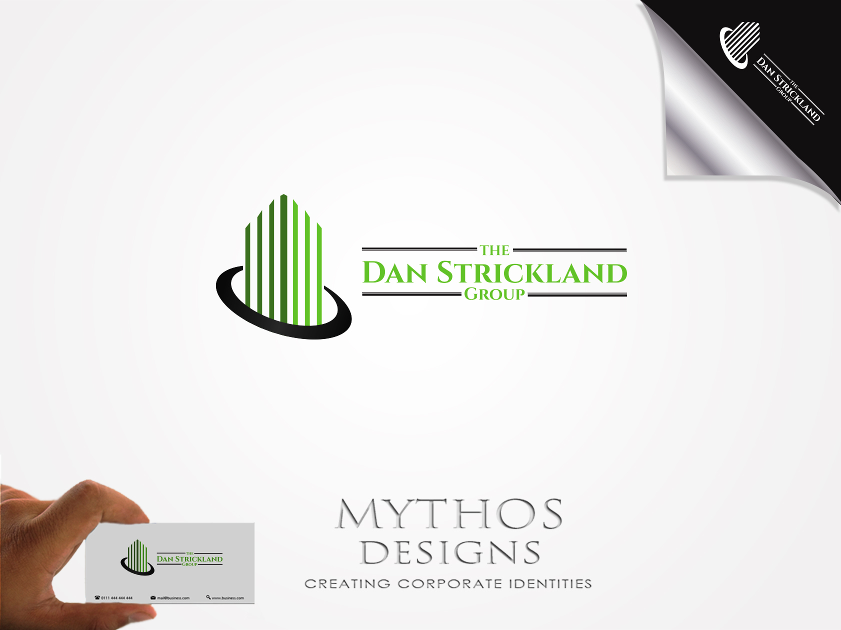 Logo Design by Mythos Designs - Entry No. 112 in the Logo Design Contest Creative Logo Design for The Dan Strickland Group.