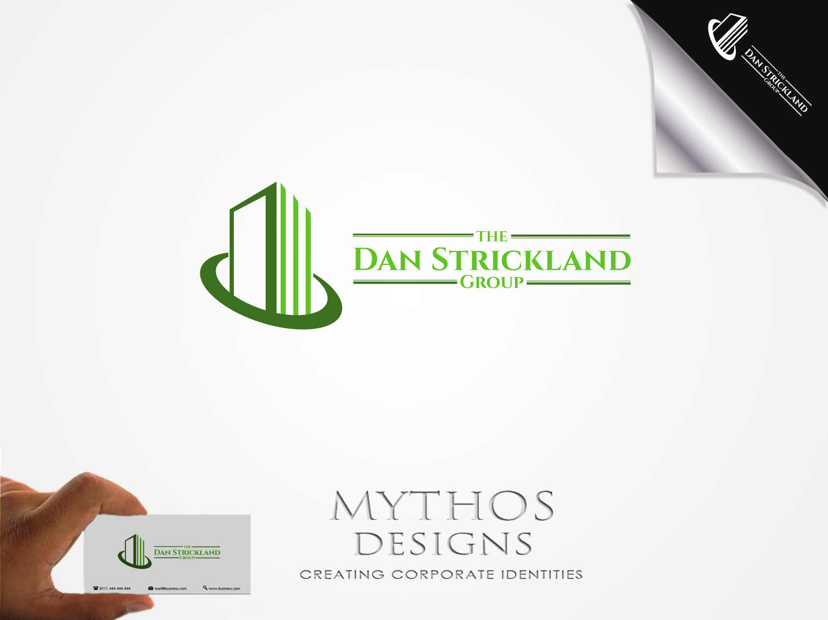 Logo Design by Mythos Designs - Entry No. 113 in the Logo Design Contest Creative Logo Design for The Dan Strickland Group.