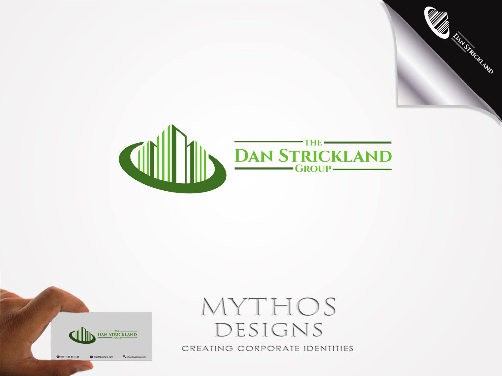 Logo Design by Mythos Designs - Entry No. 116 in the Logo Design Contest Creative Logo Design for The Dan Strickland Group.