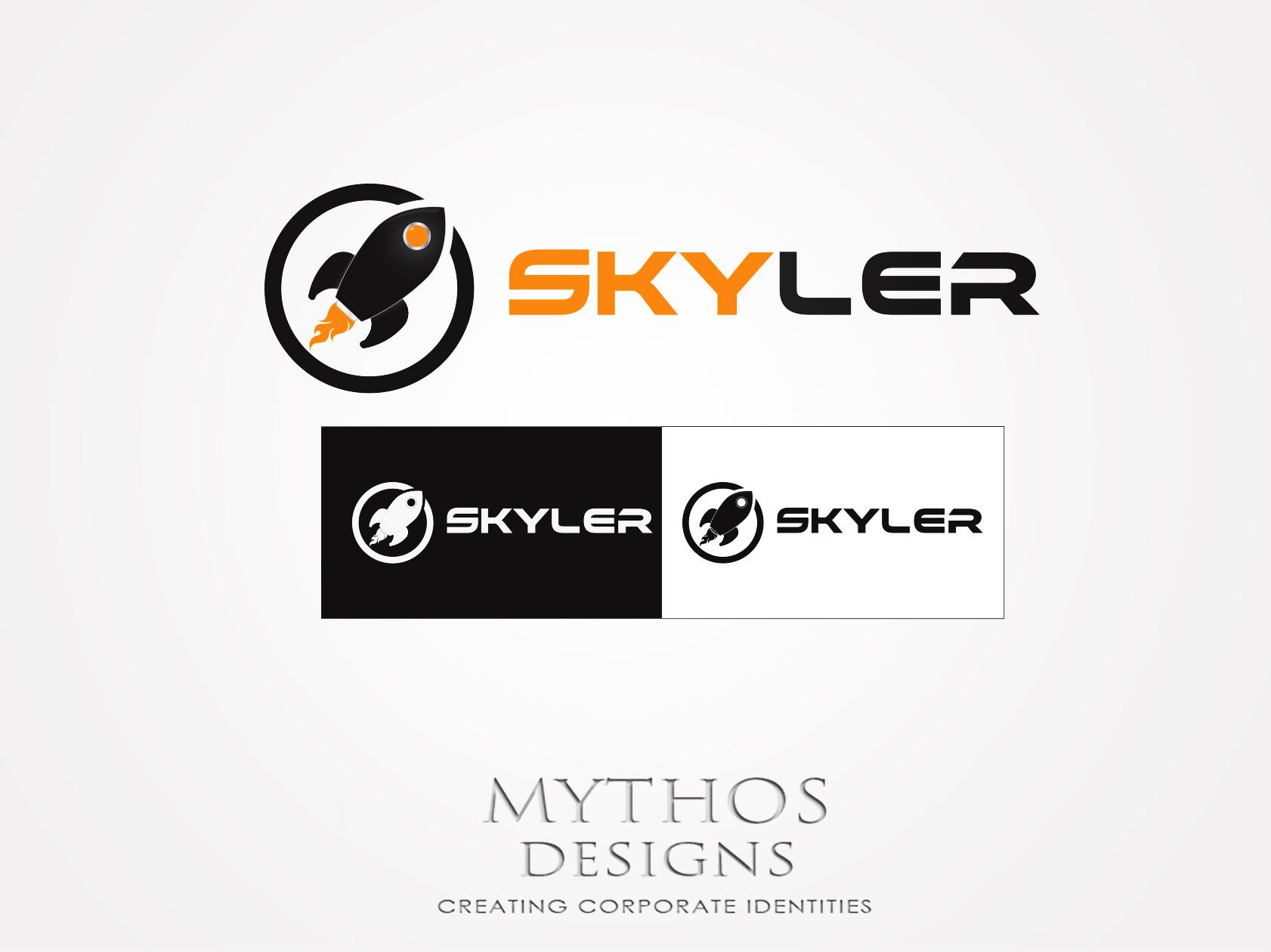 Logo Design by Mythos Designs - Entry No. 191 in the Logo Design Contest Artistic Logo Design for Skyler.Asia.