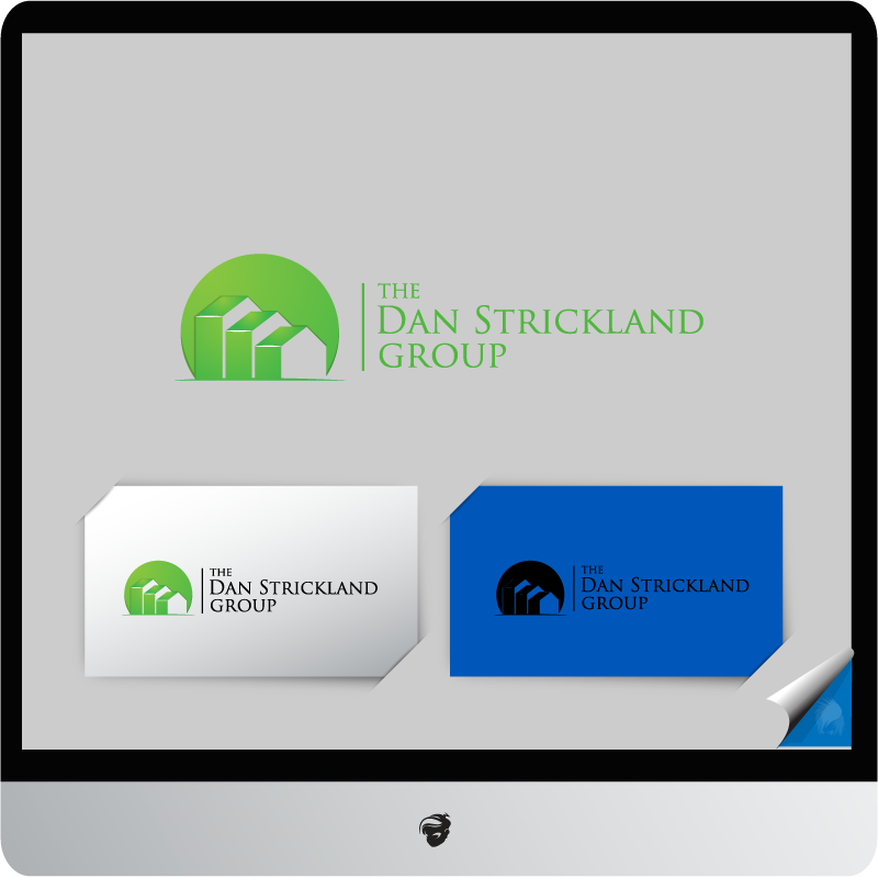 Logo Design by zesthar - Entry No. 123 in the Logo Design Contest Creative Logo Design for The Dan Strickland Group.