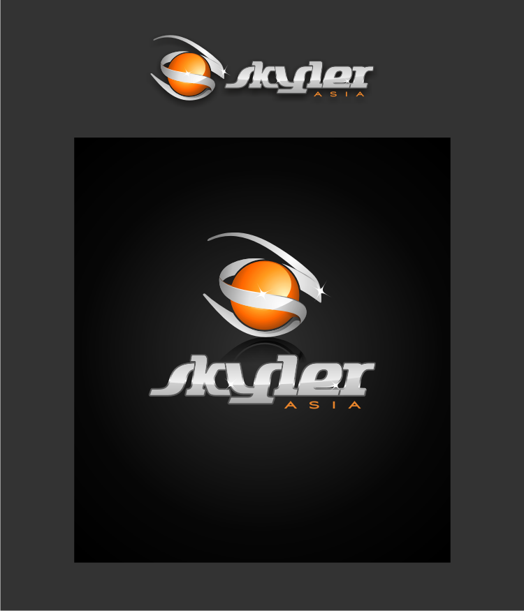Logo Design by graphicleaf - Entry No. 193 in the Logo Design Contest Artistic Logo Design for Skyler.Asia.