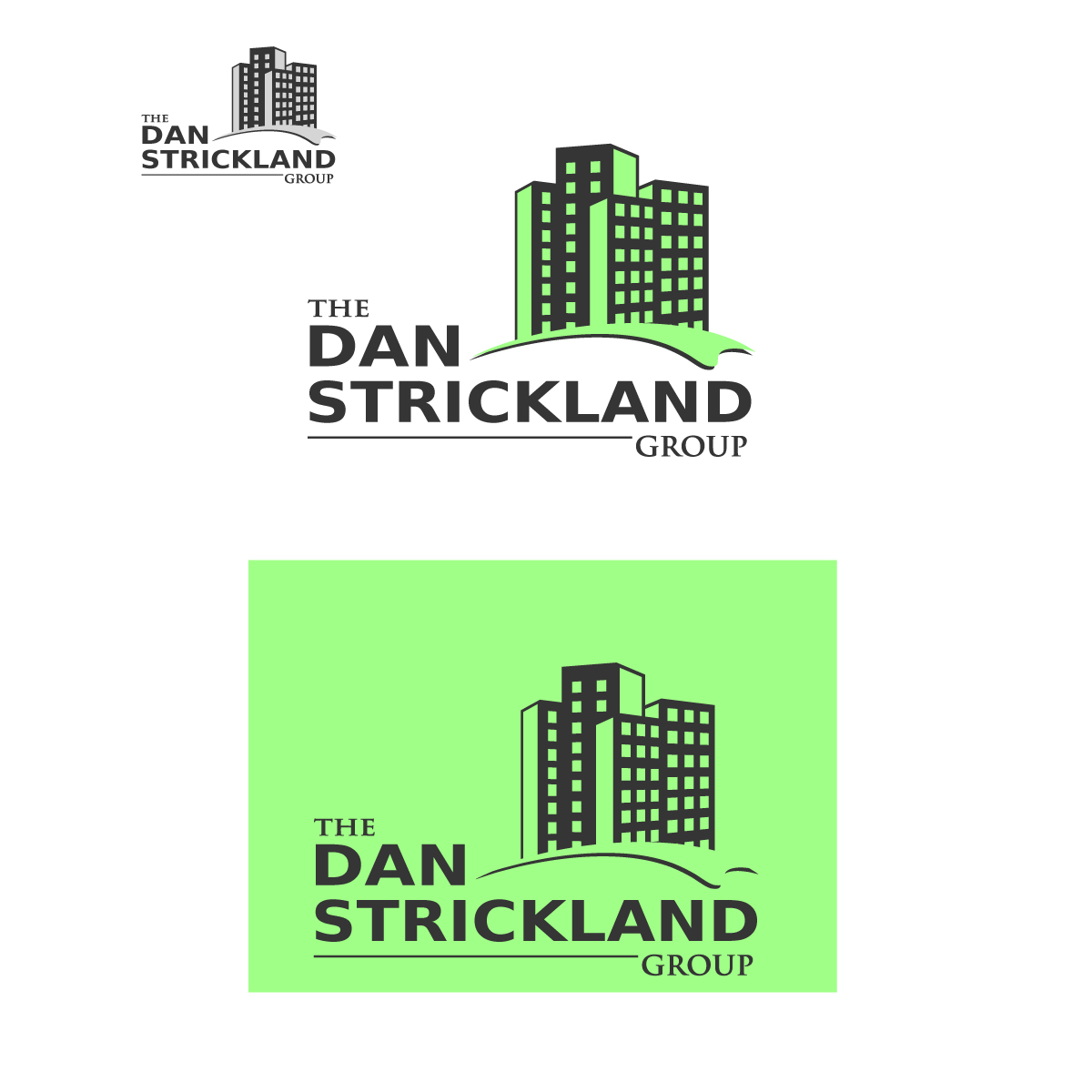 Logo Design by danelav - Entry No. 125 in the Logo Design Contest Creative Logo Design for The Dan Strickland Group.