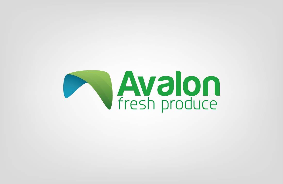 Logo Design by Shahriar Zaman - Entry No. 62 in the Logo Design Contest Unique Logo Design Wanted for Avalon Fresh Produce.
