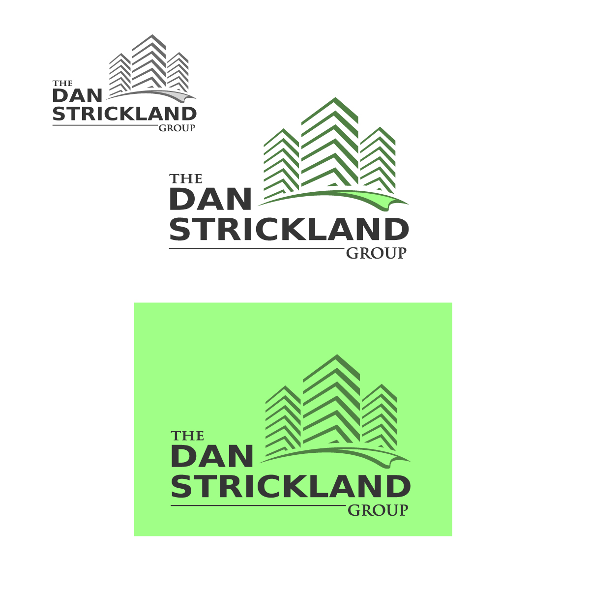 Logo Design by danelav - Entry No. 128 in the Logo Design Contest Creative Logo Design for The Dan Strickland Group.