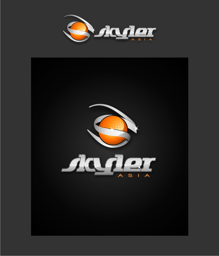 Logo Design by graphicleaf - Entry No. 197 in the Logo Design Contest Artistic Logo Design for Skyler.Asia.