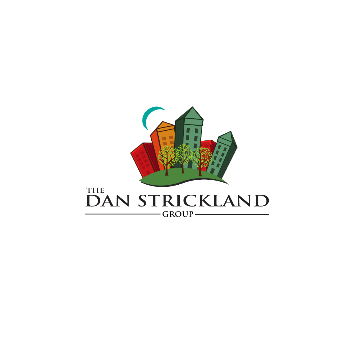 Logo Design by danelav - Entry No. 133 in the Logo Design Contest Creative Logo Design for The Dan Strickland Group.