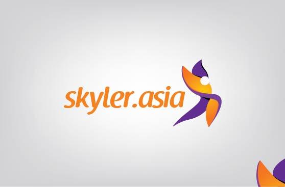 Logo Design by Shahriar Zaman - Entry No. 202 in the Logo Design Contest Artistic Logo Design for Skyler.Asia.