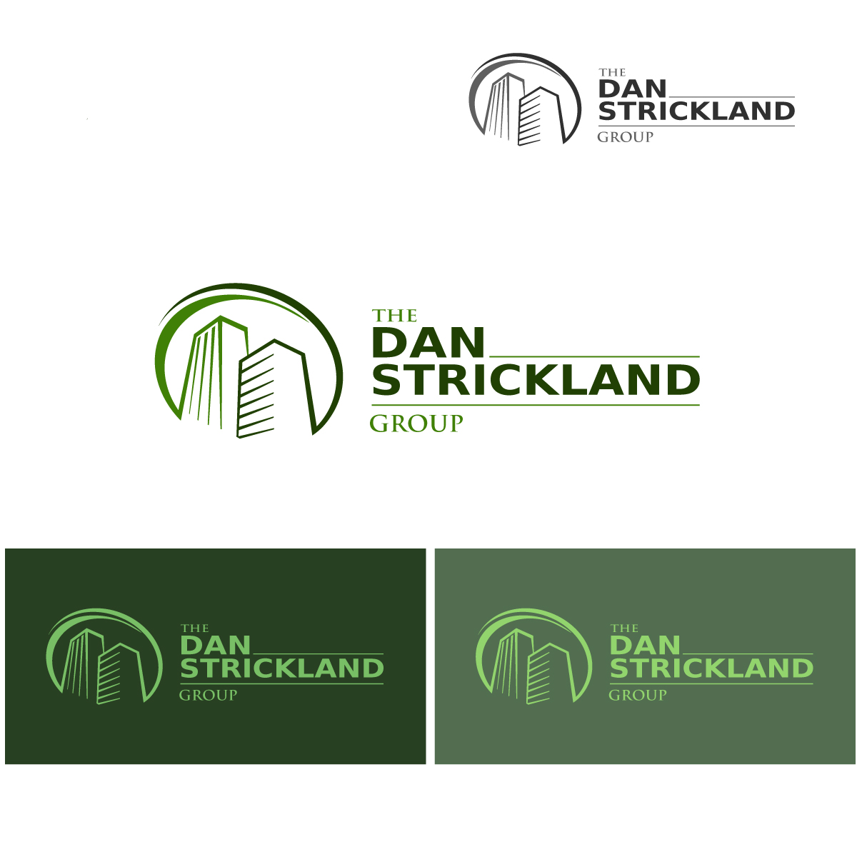 Logo Design by danelav - Entry No. 136 in the Logo Design Contest Creative Logo Design for The Dan Strickland Group.