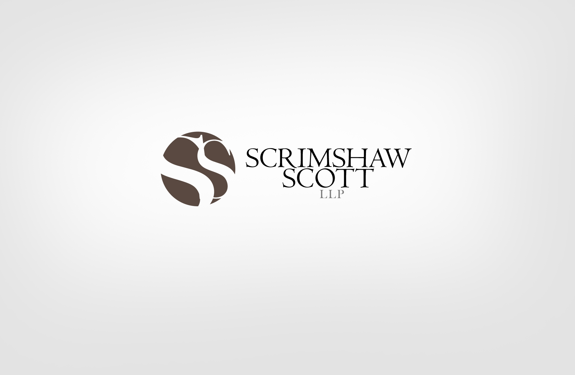 Logo Design by Jan Chua - Entry No. 21 in the Logo Design Contest Creative Logo Design for Scrimshaw Scott LLP.