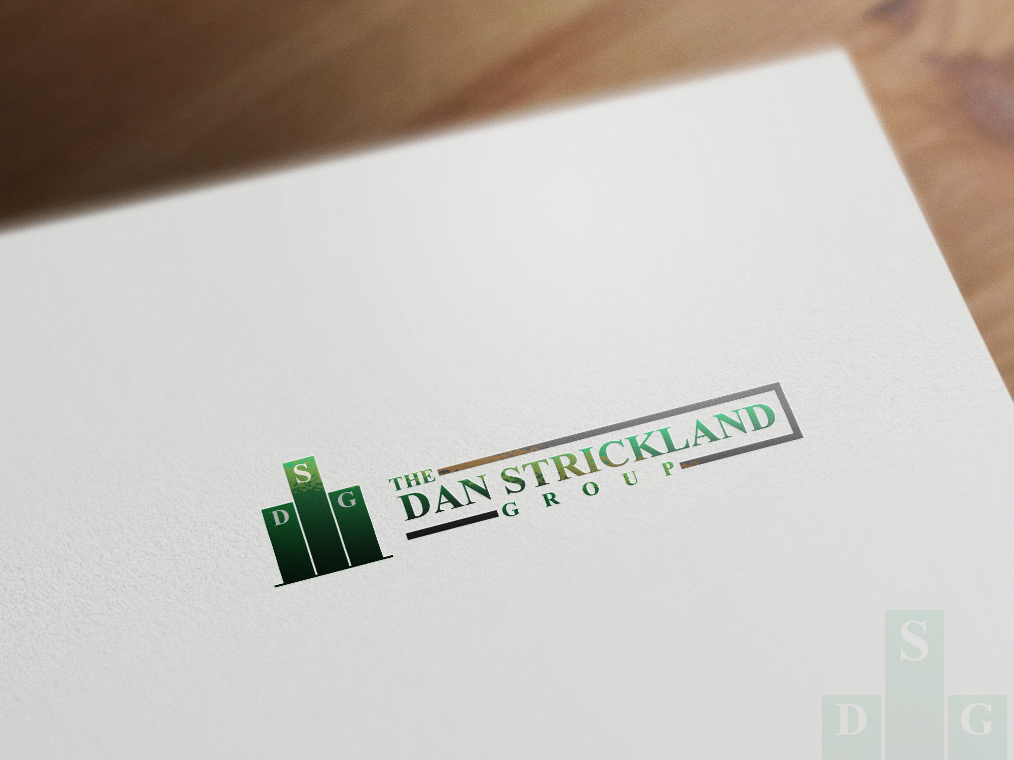 Logo Design by olii - Entry No. 137 in the Logo Design Contest Creative Logo Design for The Dan Strickland Group.