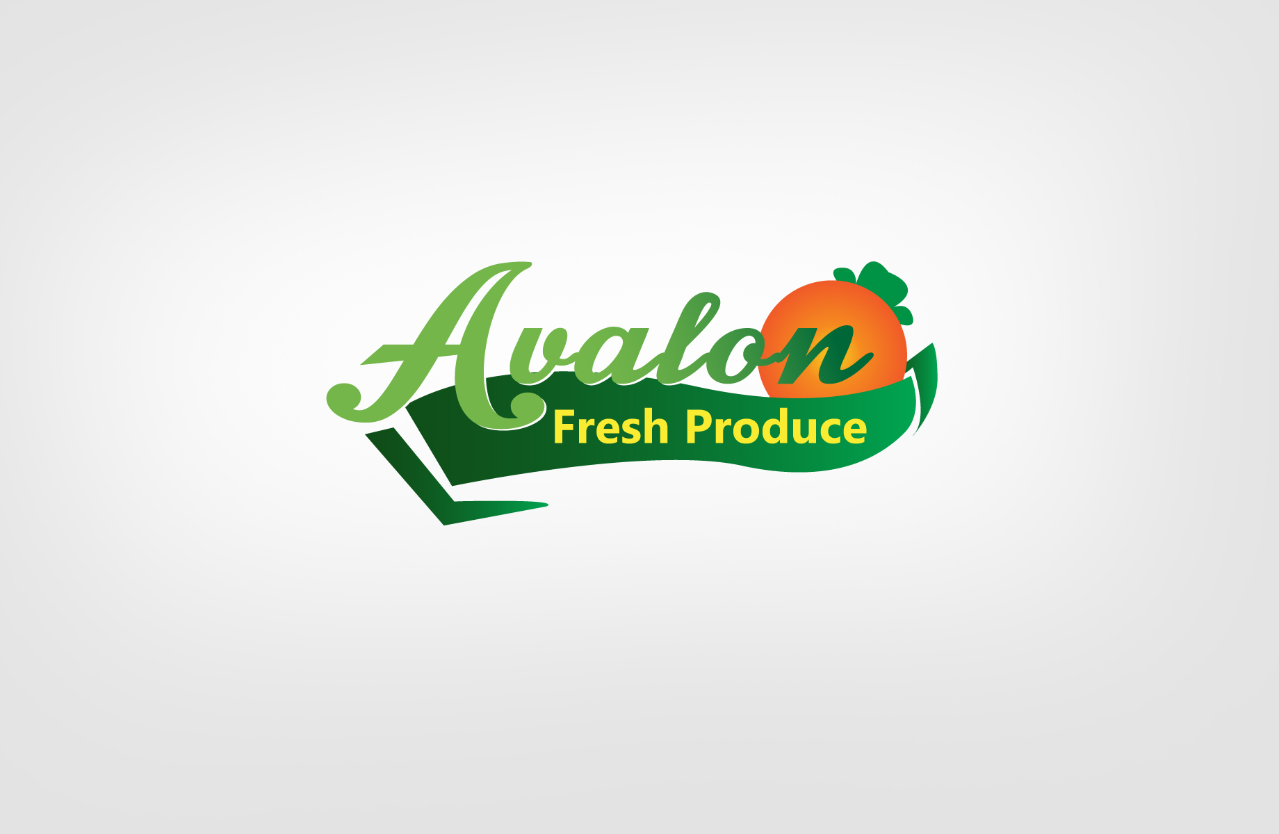 Logo Design by Jan Chua - Entry No. 67 in the Logo Design Contest Unique Logo Design Wanted for Avalon Fresh Produce.