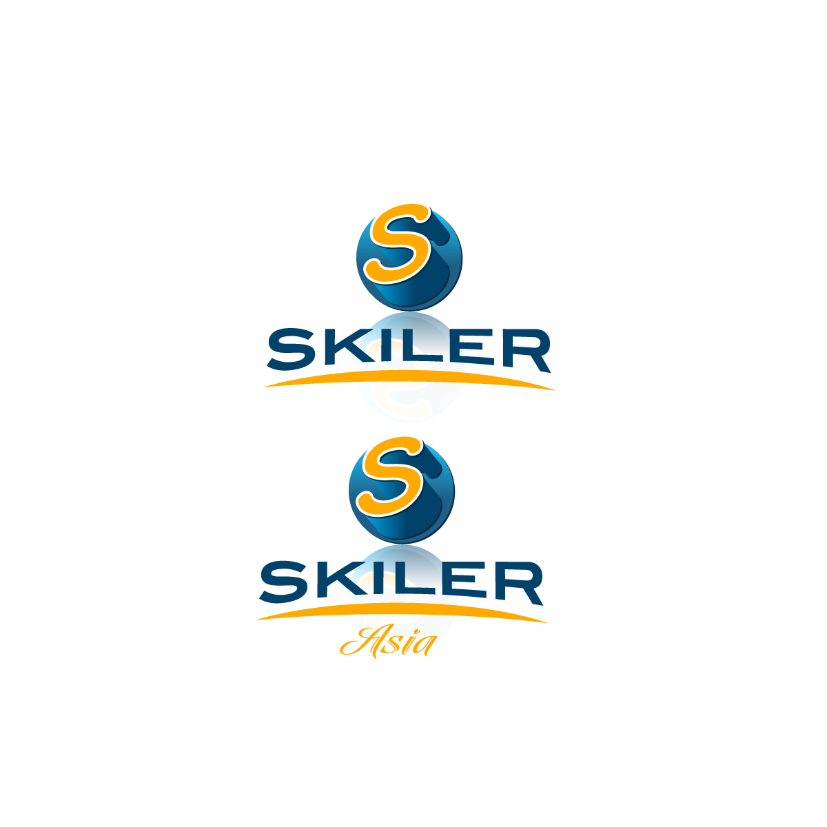 Logo Design by danelav - Entry No. 210 in the Logo Design Contest Artistic Logo Design for Skyler.Asia.