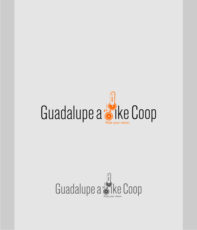 Logo Design by graphicleaf - Entry No. 10 in the Logo Design Contest Inspiring Logo Design for Guadalupe Earn a Bike Coop..