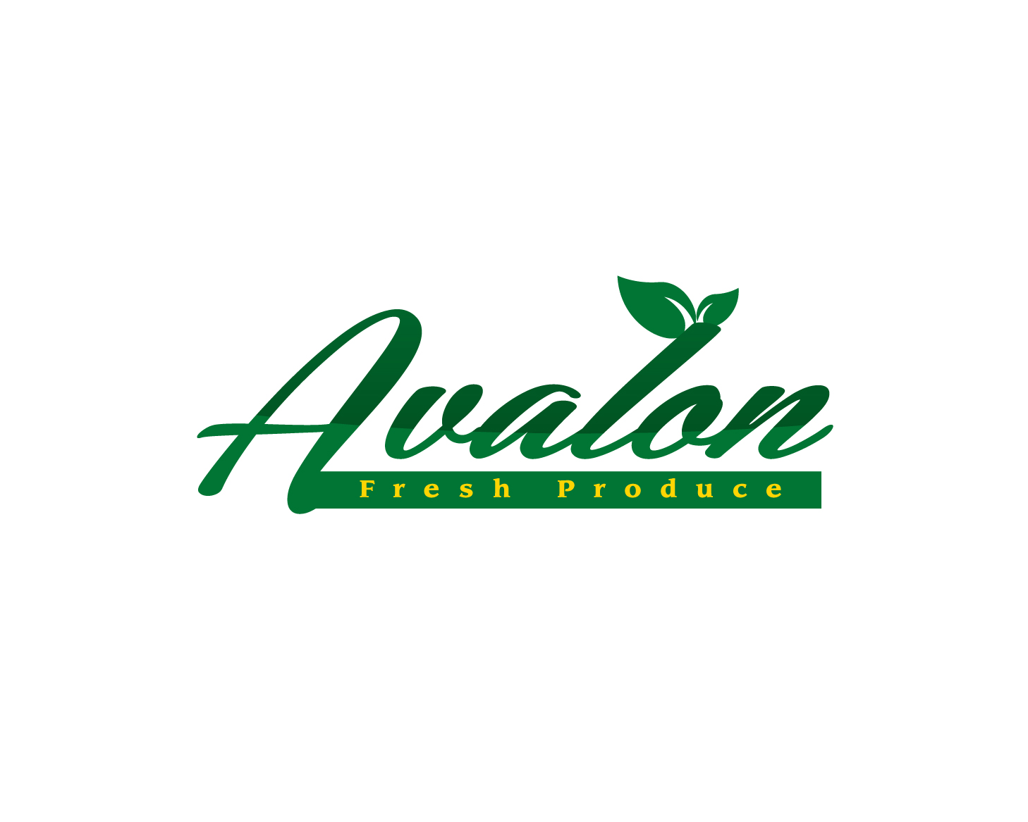Logo Design by rA - Entry No. 69 in the Logo Design Contest Unique Logo Design Wanted for Avalon Fresh Produce.