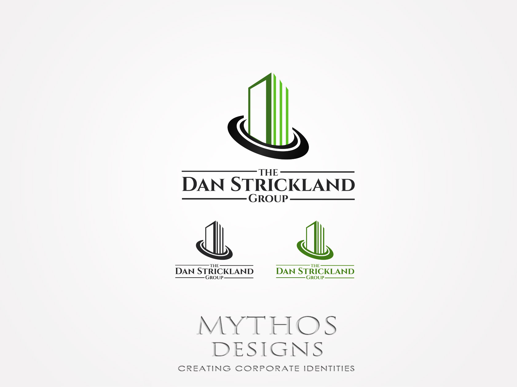 Logo Design by Mythos Designs - Entry No. 141 in the Logo Design Contest Creative Logo Design for The Dan Strickland Group.