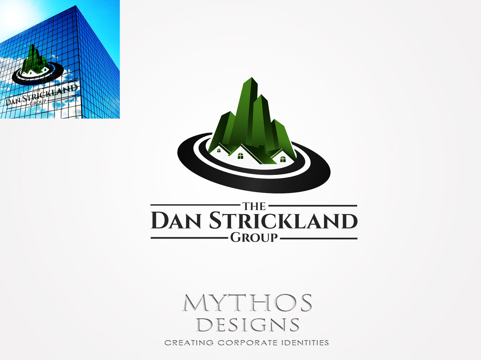 Logo Design by Mythos Designs - Entry No. 143 in the Logo Design Contest Creative Logo Design for The Dan Strickland Group.