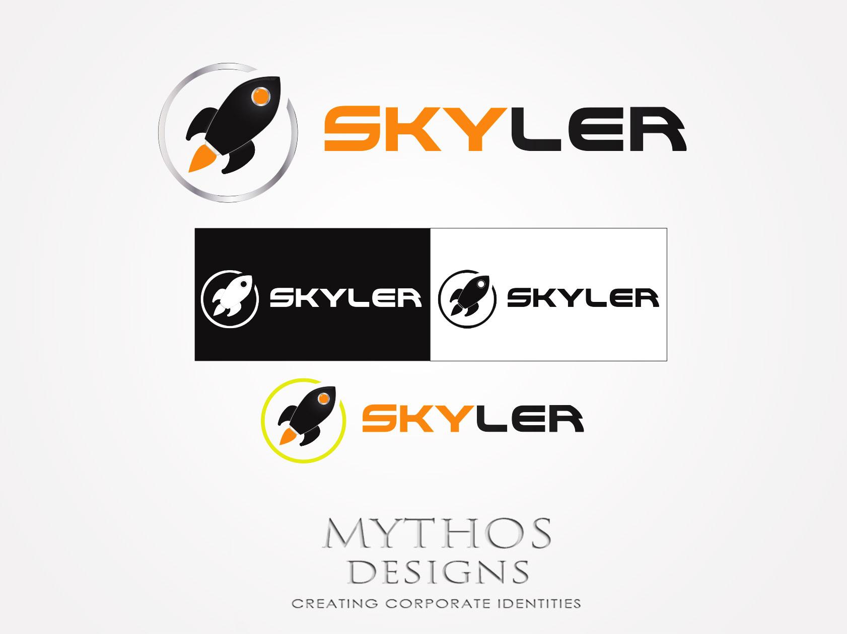 Logo Design by Mythos Designs - Entry No. 216 in the Logo Design Contest Artistic Logo Design for Skyler.Asia.