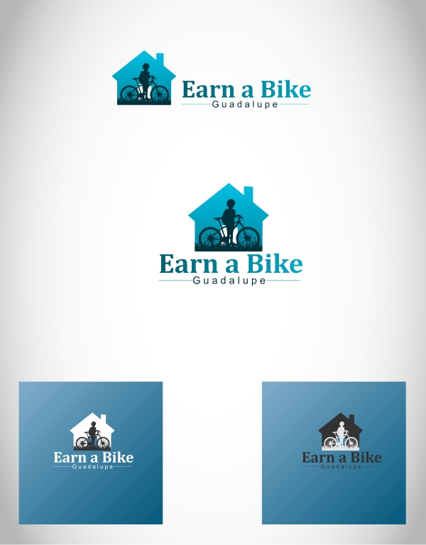 Logo Design by Private User - Entry No. 11 in the Logo Design Contest Inspiring Logo Design for Guadalupe Earn a Bike Coop..