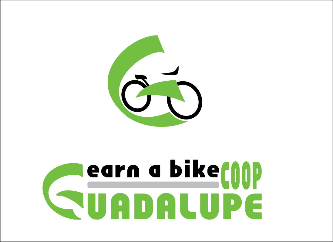 Logo Design by Claudia Tutuman - Entry No. 12 in the Logo Design Contest Inspiring Logo Design for Guadalupe Earn a Bike Coop..