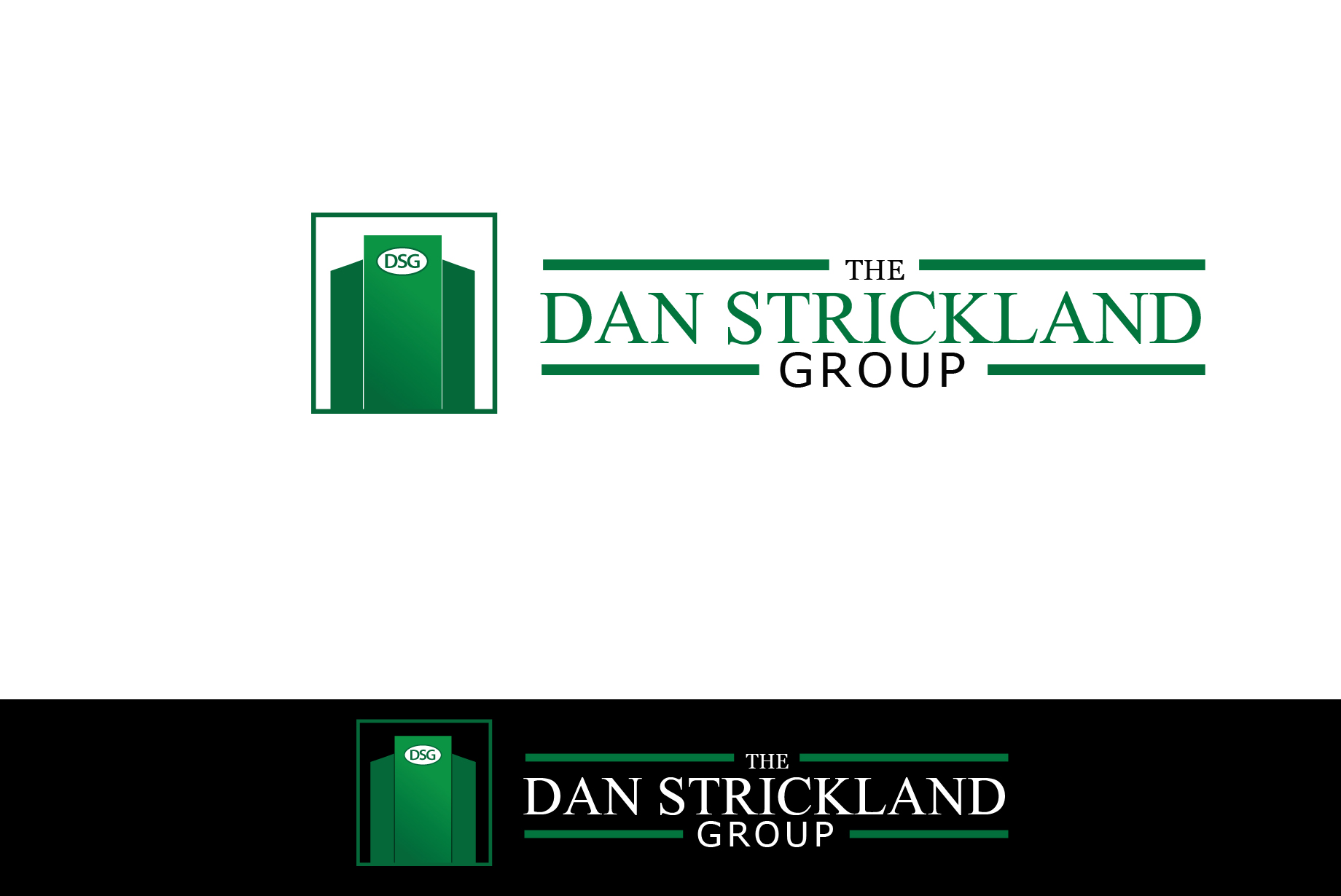 Logo Design by Jan Chua - Entry No. 146 in the Logo Design Contest Creative Logo Design for The Dan Strickland Group.