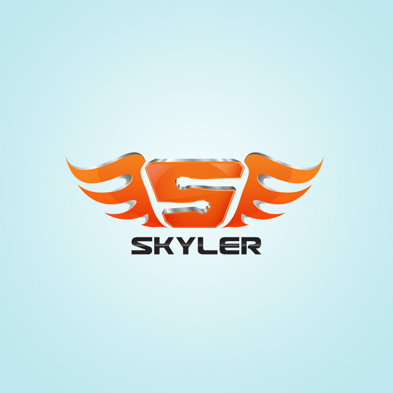 Logo Design by Private User - Entry No. 217 in the Logo Design Contest Artistic Logo Design for Skyler.Asia.