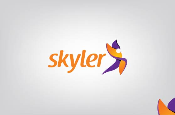 Logo Design by Shahriar Zaman - Entry No. 218 in the Logo Design Contest Artistic Logo Design for Skyler.Asia.