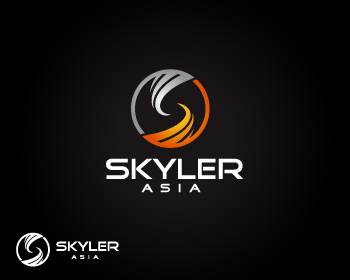 Logo Design by Private User - Entry No. 220 in the Logo Design Contest Artistic Logo Design for Skyler.Asia.