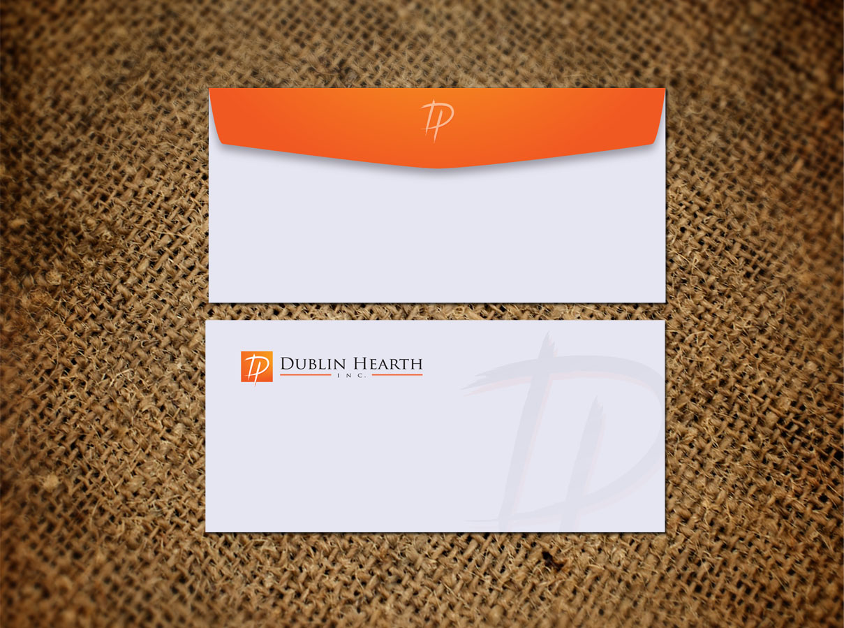 Business Card Design by Totok Budiarto - Entry No. 59 in the Business Card Design Contest Business Card and Letterhead  Design Dublin Hearth Inc..