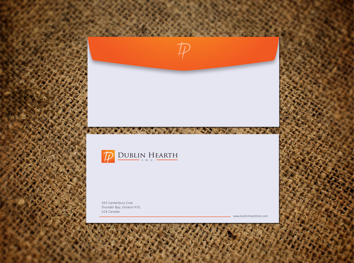 Business Card Design by Totok Budiarto - Entry No. 61 in the Business Card Design Contest Business Card and Letterhead  Design Dublin Hearth Inc..