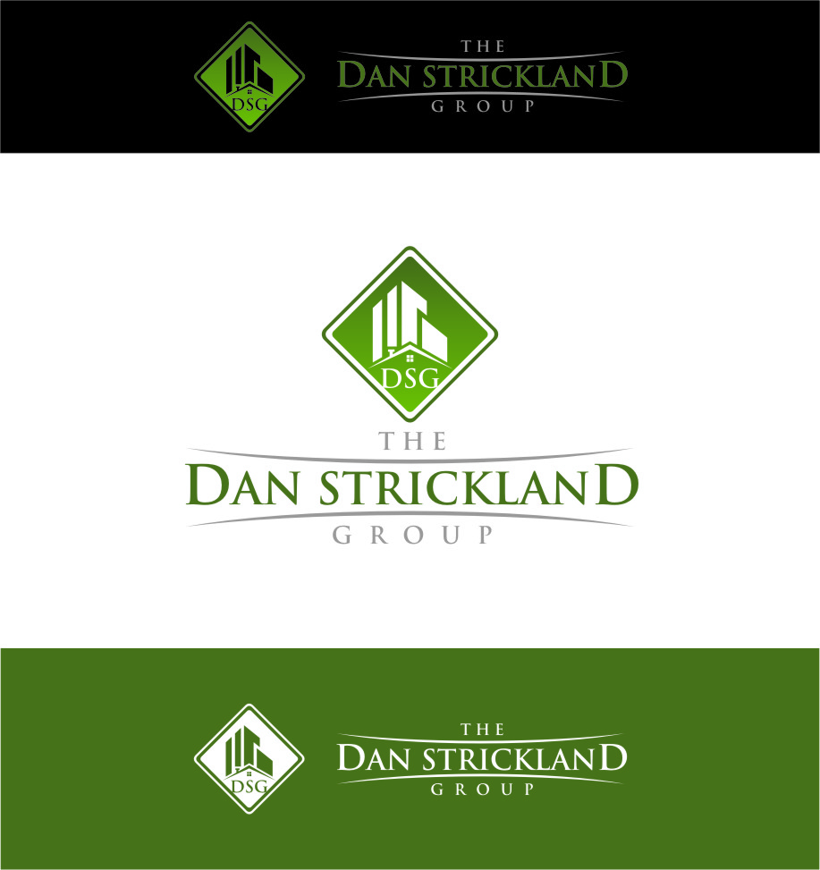 Logo Design by Ngepet_art - Entry No. 160 in the Logo Design Contest Creative Logo Design for The Dan Strickland Group.