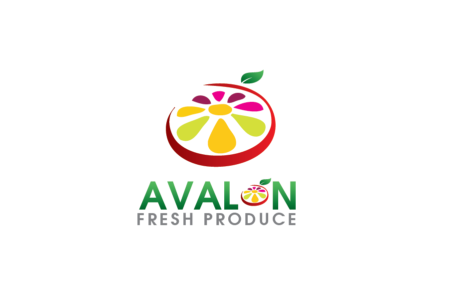 Logo Design by Digital Designs - Entry No. 72 in the Logo Design Contest Unique Logo Design Wanted for Avalon Fresh Produce.