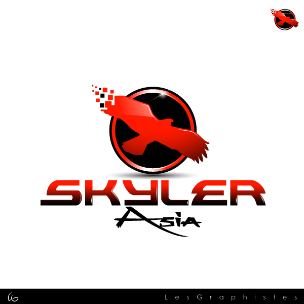 Logo Design by Les-Graphistes - Entry No. 226 in the Logo Design Contest Artistic Logo Design for Skyler.Asia.