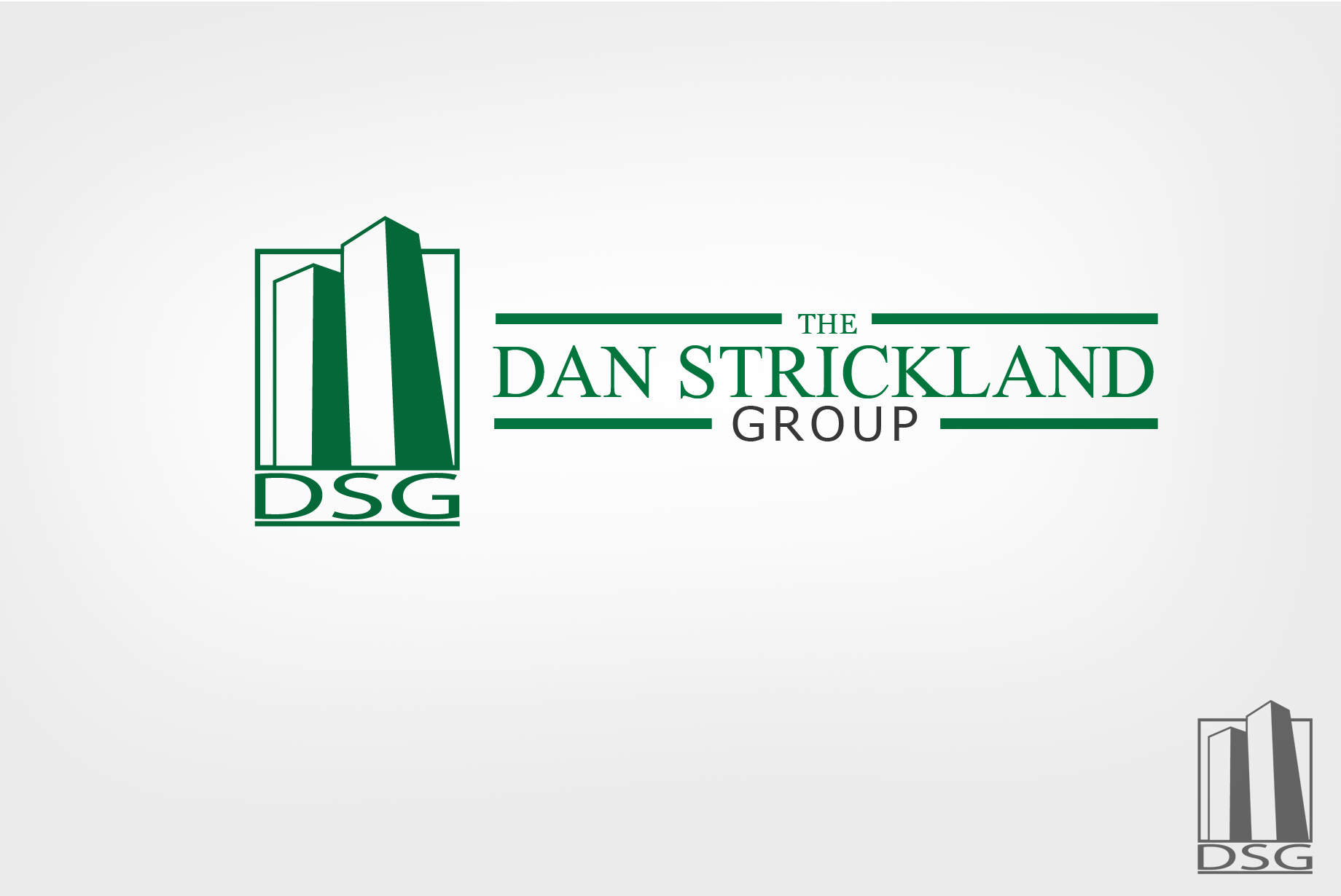 Logo Design by Jan Chua - Entry No. 168 in the Logo Design Contest Creative Logo Design for The Dan Strickland Group.