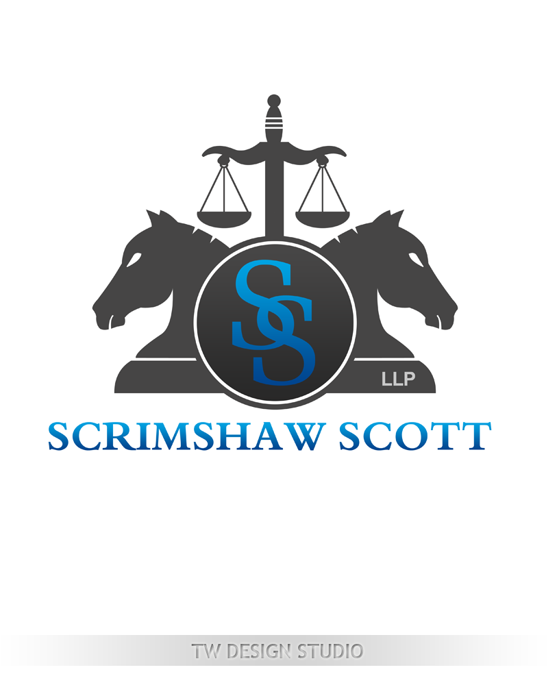 Logo Design by Robert Turla - Entry No. 25 in the Logo Design Contest Creative Logo Design for Scrimshaw Scott LLP.