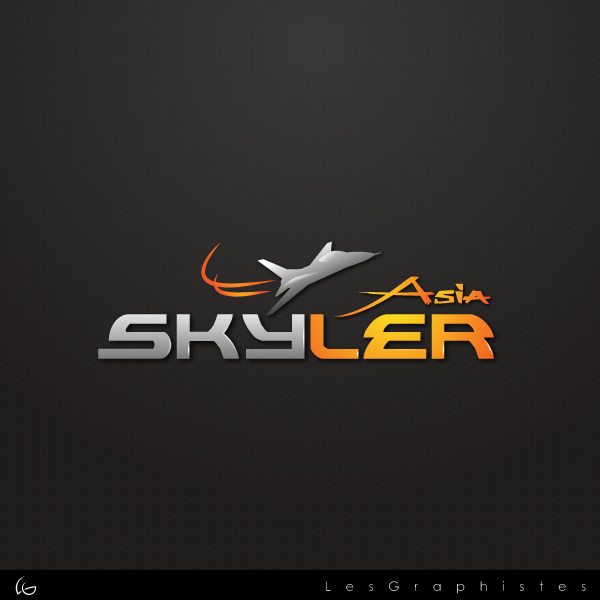 Logo Design by Les-Graphistes - Entry No. 228 in the Logo Design Contest Artistic Logo Design for Skyler.Asia.