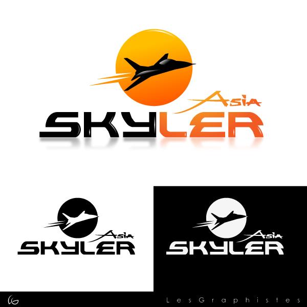 Logo Design by Les-Graphistes - Entry No. 229 in the Logo Design Contest Artistic Logo Design for Skyler.Asia.